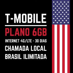PLANO ESTADOS UNIDOS - Franquia 6GB - Promoção.